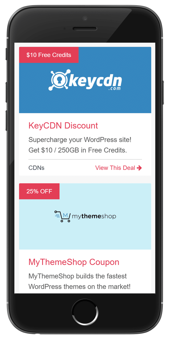 wp coupons responsive